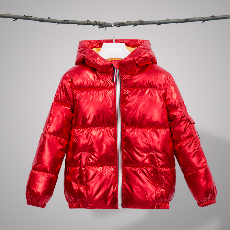 Children Winter Coats for Girls Outerwear Hot Stamping Thick White Duck Down Jacket Parkas Teenage Boys Jackets Kids Clothing стоимость