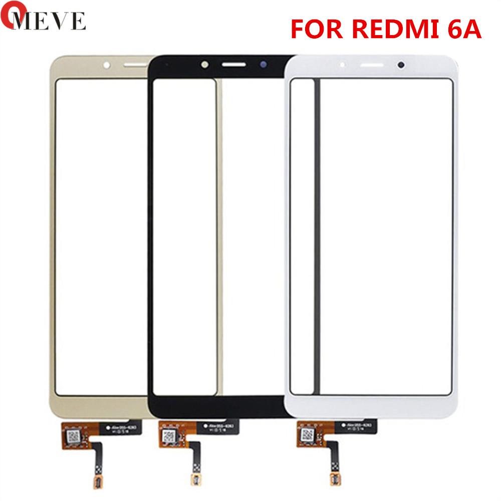 Touch Screen Panel Sensor For Xiaomi Redmi 6/ 6A Touchscreen Digitizer SmartPhone Front Glass Replacement