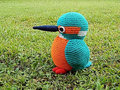 Amigurumi Crochet doll - Kingfisher