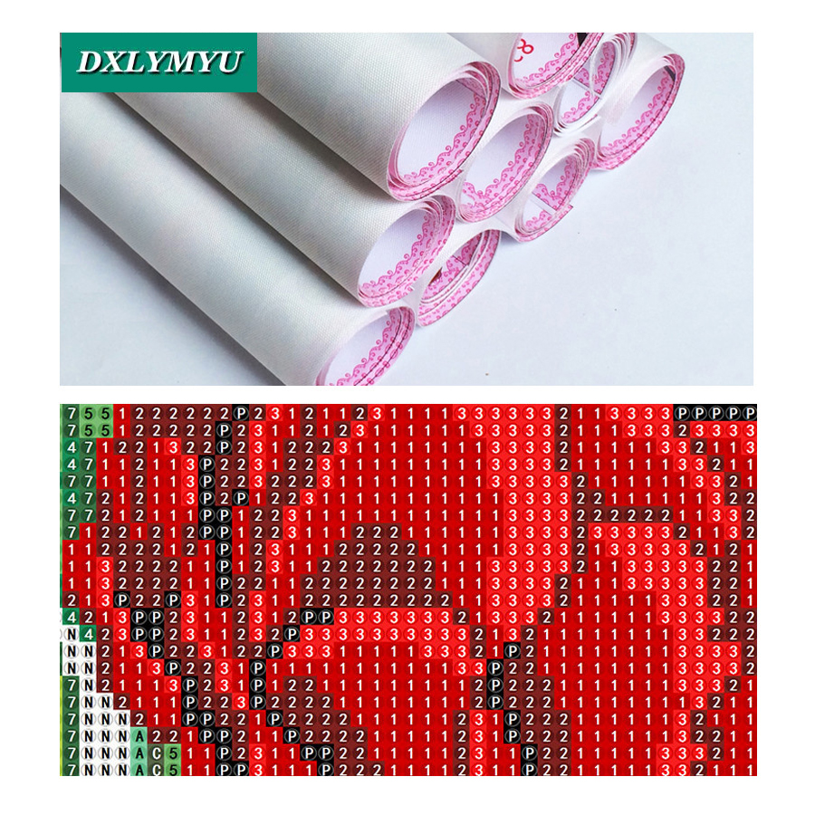 square Rhinestone Diamond Embroidery Full Diy Diamond Painting Dragon and elves queen Mosaic Cross Stitch Crafts Home Paintings in Diamond Painting Cross Stitch from Home Garden