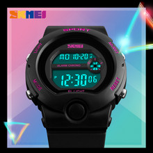 SKMEI модные женские часы женские Водонепроницаемый Chrono Часы женский сигнализации Цифровые наручные часы Relogio feminino Reloj де Mujer