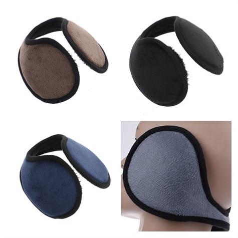 1Pc Unisex Earmuff Winter Warmer Earlap Black/Coffee/Gray/Navy Blue Apparel Accessories Earmuff Ear Muff Wrap Band Ear Gift
