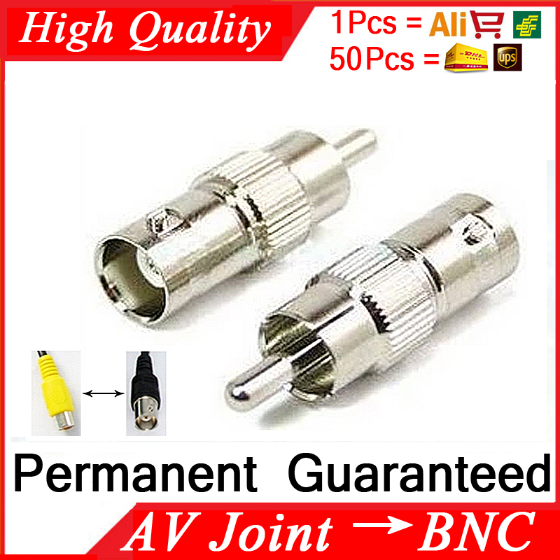 1pcs Free Shipping BNC To AV Surveillance Cameras Turn TV Joint Monitoring Equipment Accessories Female BNC Q9-av Turned