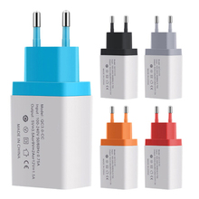 Universal Quick Charge 3.0 USB Charger Power Adapter for iPhone Samsung Xiaomi LG HTC