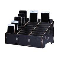 Multifunctional Mobile Phone Repair Tool Box Wooden Storage Box Toolbox For Smartphone Repair Tools Kit