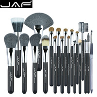 JAF 20 Pcs Set Makup Brushes Premiuim Natural Hair Of Goat Pony Horse Makeup Brush Tool