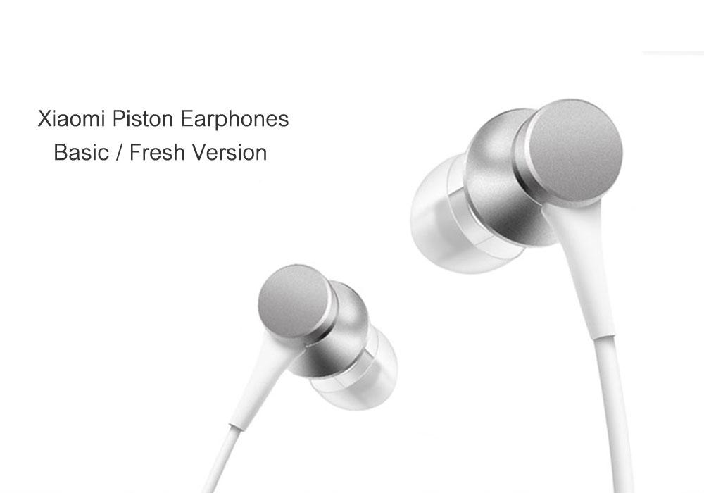 Mi Xiaomi Piston 3 Headphones In-Ear 3.5mm Colorful Headset Earphone With Mic Headset Basic Version Headphone Earphones (21