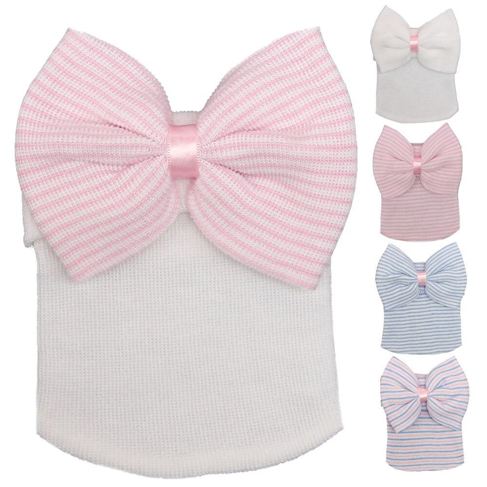 ③Hospital recién nacido del sombrero del bebé del algodón Beanie ...