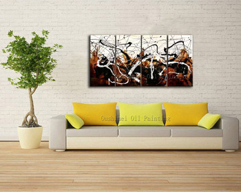 Professional Artist Pure Hand-painted High Quality Modern Abstract Oil Painting For Living Room Abstract Canvas Painting
