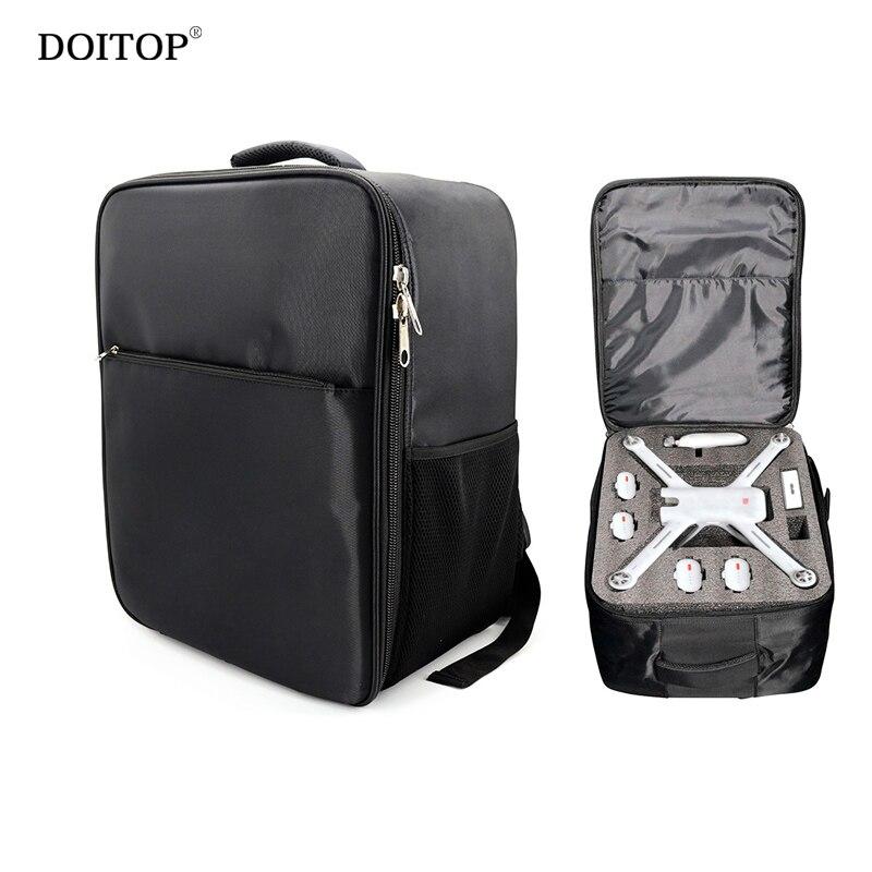 DOITOP Outdoor Waterproof Carry Bag Handbag for XIAOMI MI 4K Verson Drone Backpack Storage Bag UAV RC Quadcopter Accessories C4