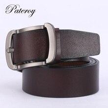 10ac646606a8  PATEROY  ceinture Designer Ceintures Hommes de Haute Qualité En Cuir  Ceinture Hommes Vintage Cinturones