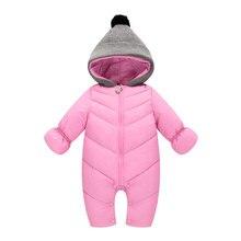 Children's clothing Autumn winter hot children's jumpsuit wholesale Infant newborn baby warm romper