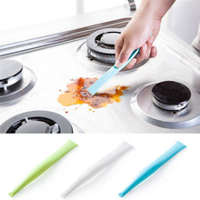 Decontamination kitchen gas stove double blade, slit stains decontamination scraping Sep23