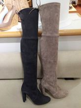 SW5050 brand new winter women's knee-high boots female genuine leather long boots for women botas mujer
