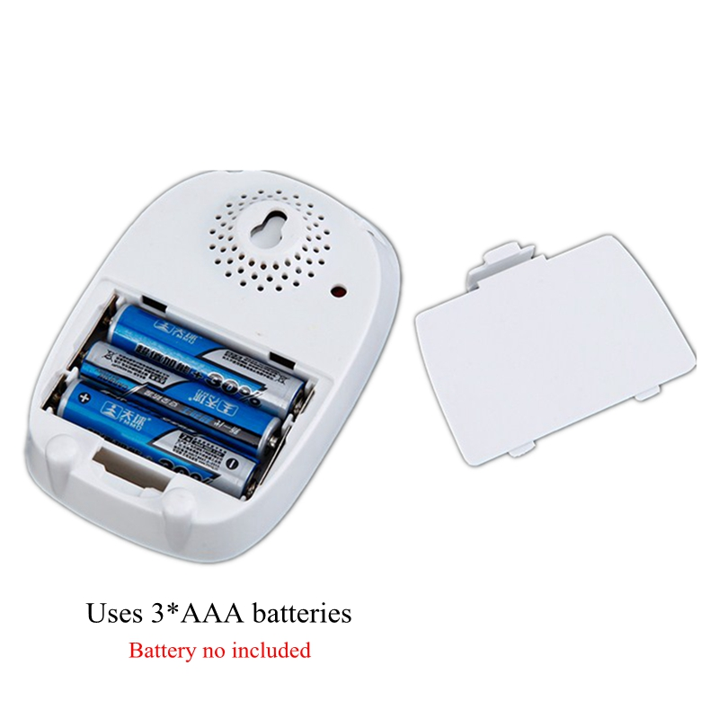 Hot Cacazi Wireless <font><b>Doorbell</b></font> Dc Battery Operated Control Button 200M <font><b>Remote</b></font> Led Light Home Cordless Call Bell 4 Volume 36 Chim image