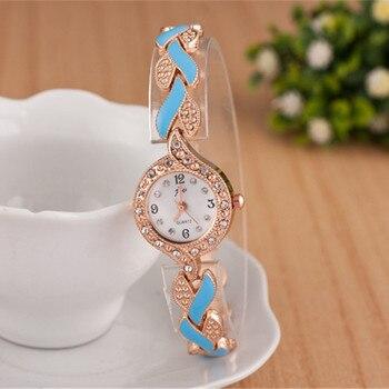 2019 New Brand JW Bracelet Watches Women Luxury Crystal Dress Wristwatches Clock Women's Fashion Casual Quartz Watch reloj mujer 2