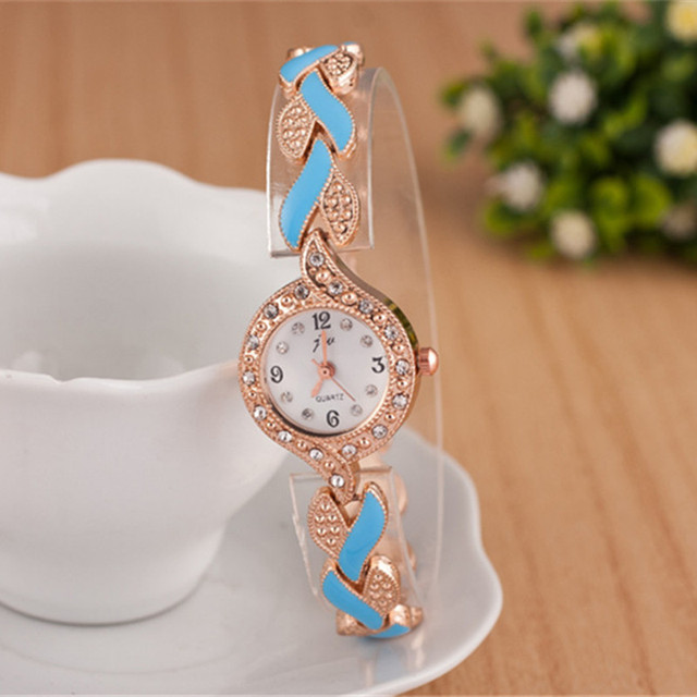 Luxury Crystal Dress Wristwatches