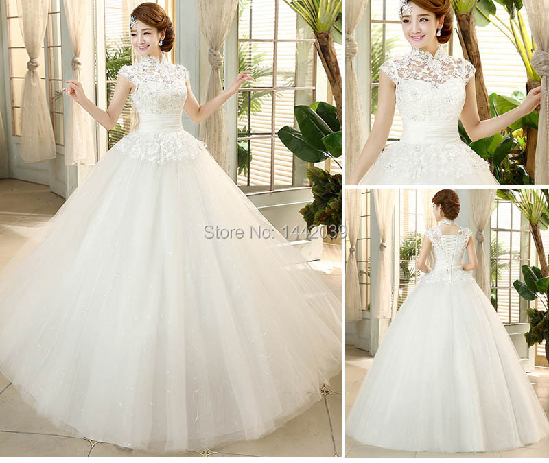 Cheap Ball Gown Tulle Wedding Dress From China Audrey Hepburn