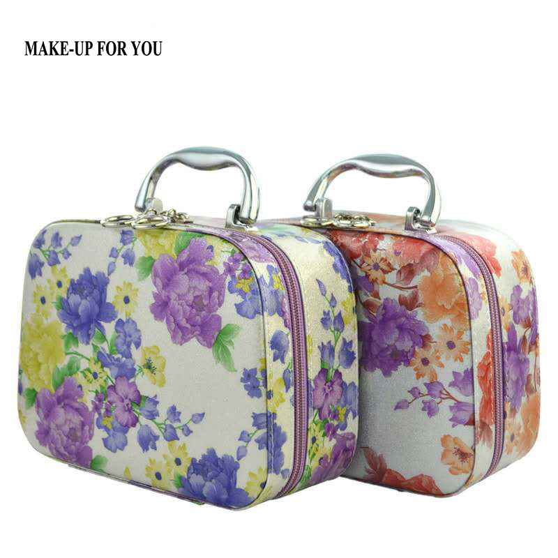 Zipper Design Portable Toiletry Cosmetic Bag Waterproof Makeup Make Up Wash Organizer  Storage Pouch Travel Kit Handbag ttou fashion barrel shaped cosmetic bag trip beauty women travel toiletry kit make up makeup case bag wash bags organizer