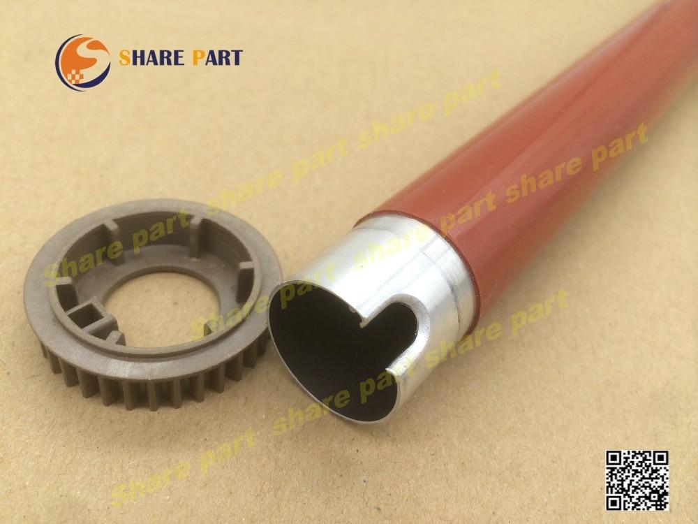 1set X Original Upper Roller With Gear For Samsung CLP360 CLP365 CLP415 Clp419 CLP470 CLX3305 CLX4195F JC66-03326A JC66-03355A