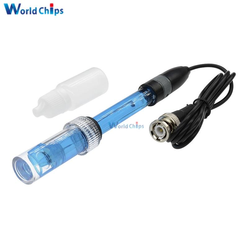1PCS 0-14PH PH Electrode Probe Hydroponic Sensor BNC Interface