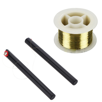 100M 0.08MM LCD Cutting Glass Separator wire line cable with stick handle bar mobile phone repair tool for apple andriod screen cutting tool
