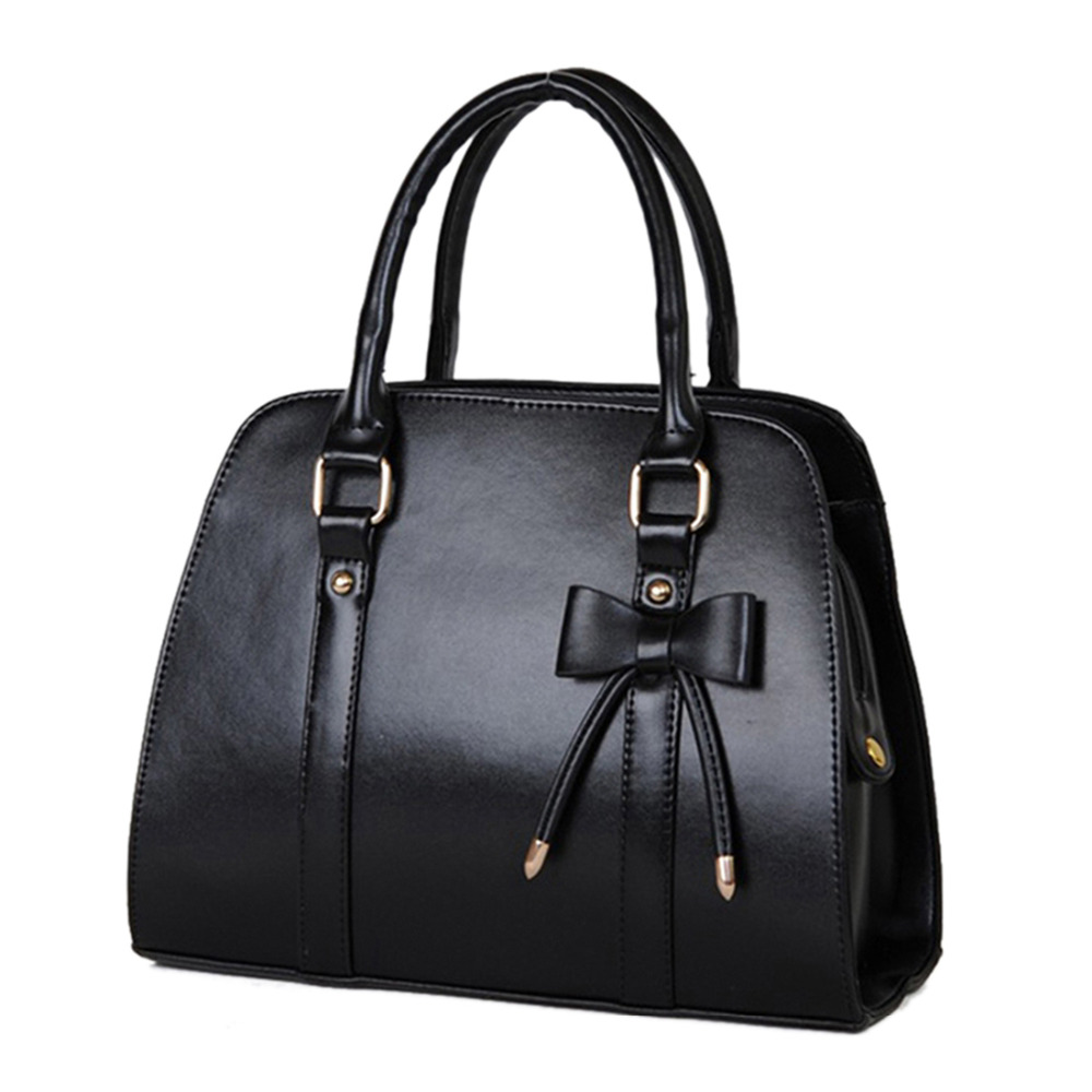 Fashion Shoulder Bags Handbags Women Famous Brands Bolsas Femininas PU Leather Top-Handle Bags Women Leather Handbags Purse Tote classic black leather tote handbags embossed pu leather women bags shoulder handbags elegant