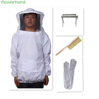 Beekeeping equipment Gloves Bee Frame Holder with Lifter Grip Bee Frame Professional Anti Bee for Apiculture Beekeeper
