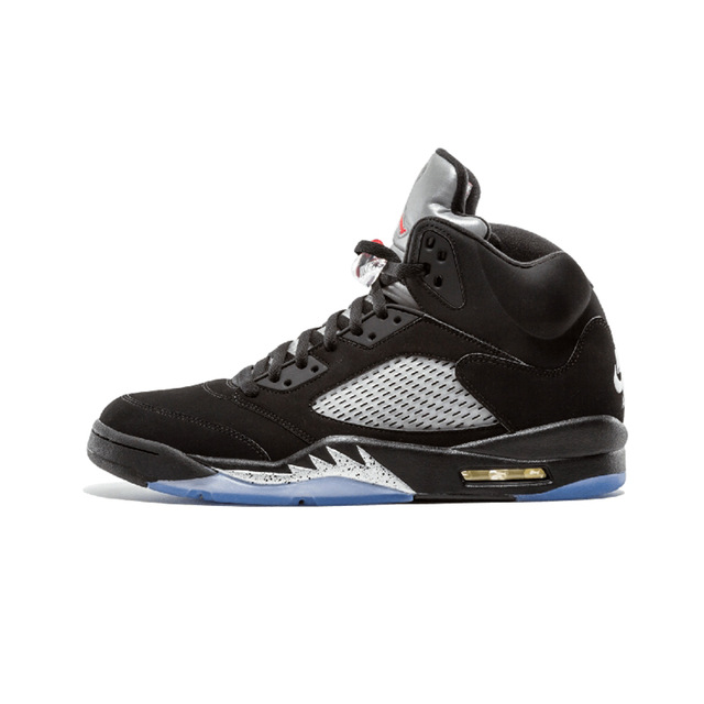 wholesale dealer 27ad2 009a8 JORDAN Retro 5 Men Basketball Shoes Black Metallic Man Sneaker Sport Shoes  Discount Sneaker Hot Sale
