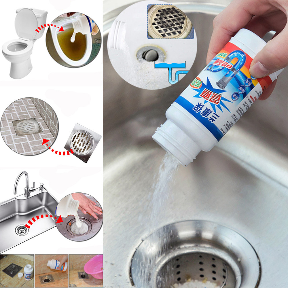 Kitchen Sewer Pipes Deodorant Strong Pipeline Dredge Agent Toilet Cleaning Tool Strong Pipeline Dredge Aagent Toilet To Clear-in Drain Cleaners from Home & Garden