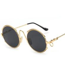 Vintage Round sunglasses Women Brand Designer sun glasses for womens brand 2016 Metal Frame Gafas De Sol Mujer Shade GG UV400
