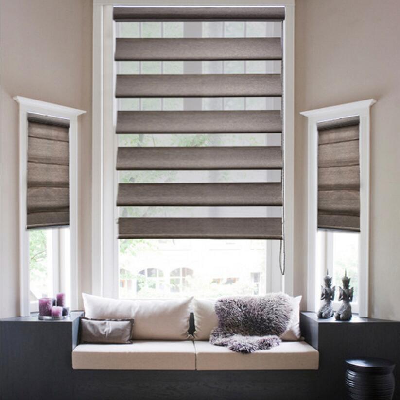 blackout window peacock roman zebra roller blinds shades. Black Bedroom Furniture Sets. Home Design Ideas