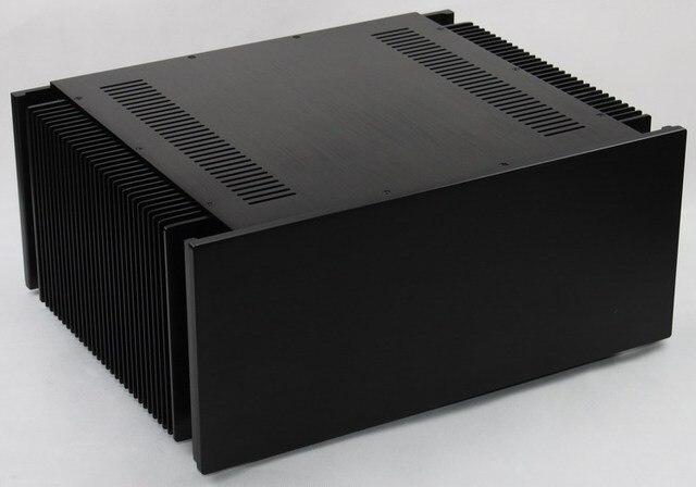 Us 1980 Wa107 Lusso Nero Alluminio Completa Di Telaio Amplificatore Audio Hifi Box Box Case Fai Da Te In Wa107 Lusso Nero Alluminio Completa Di