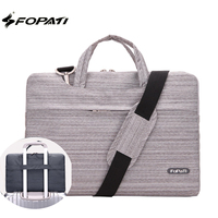 FOPATI Fashion Laptop Bag 15 6 14 13 12 11 Inch Notebook Shoulder Messenger Bag Computer
