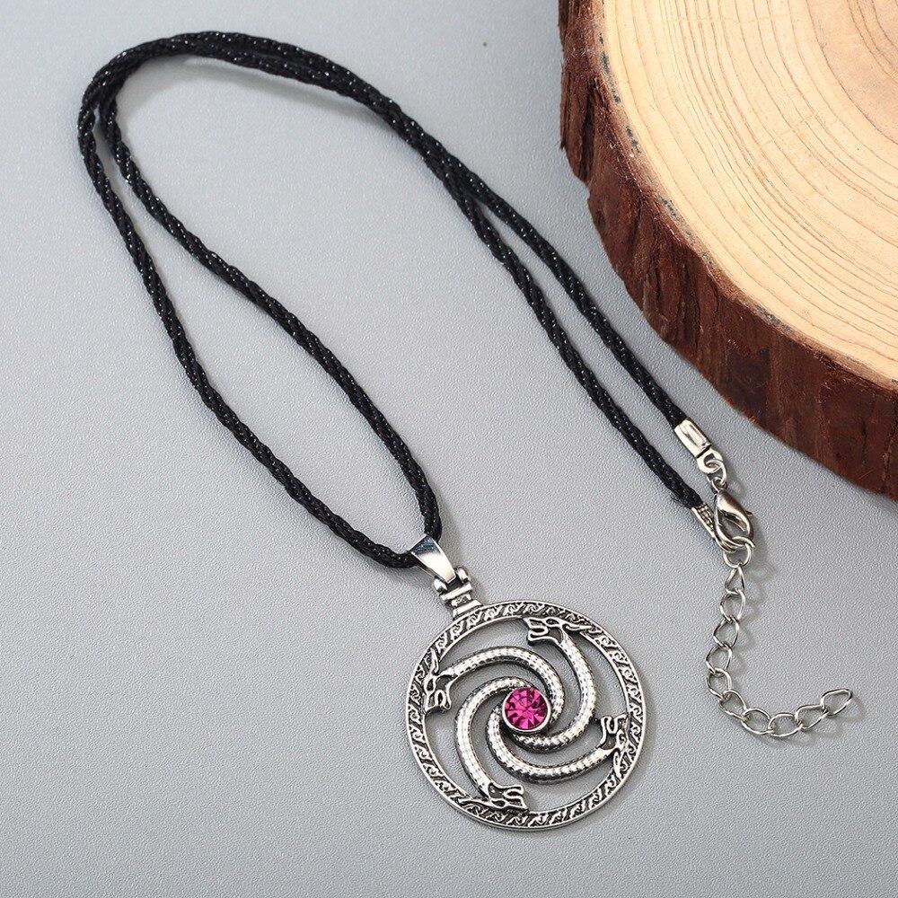 Silver Mens Male Gender Pendant Necklace Generation Hippie