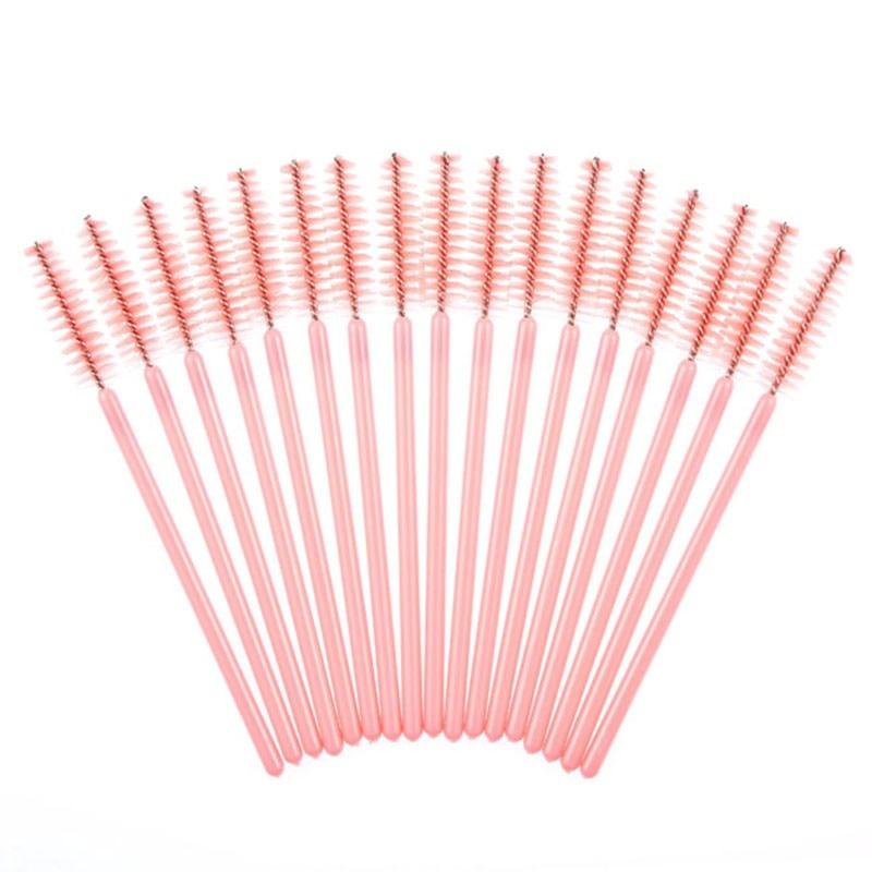 50pcs/set or 100pcs/set Eye Makeup Disposable Eyelash Brushes Mascara Wands Lash Extension Applicator