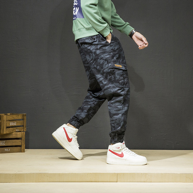 6a13bb8fd5f2 2019 Men Fashion Streetwear Mens Jeans Jogger Pants Youth Casual Summer  Ankle Banded Pants Brand Boot Cut European Jeans Pants