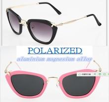 2016 alloy Costume masks style fashion Shopping men women polarized sun glasses UV400 polarized sunglasses driving