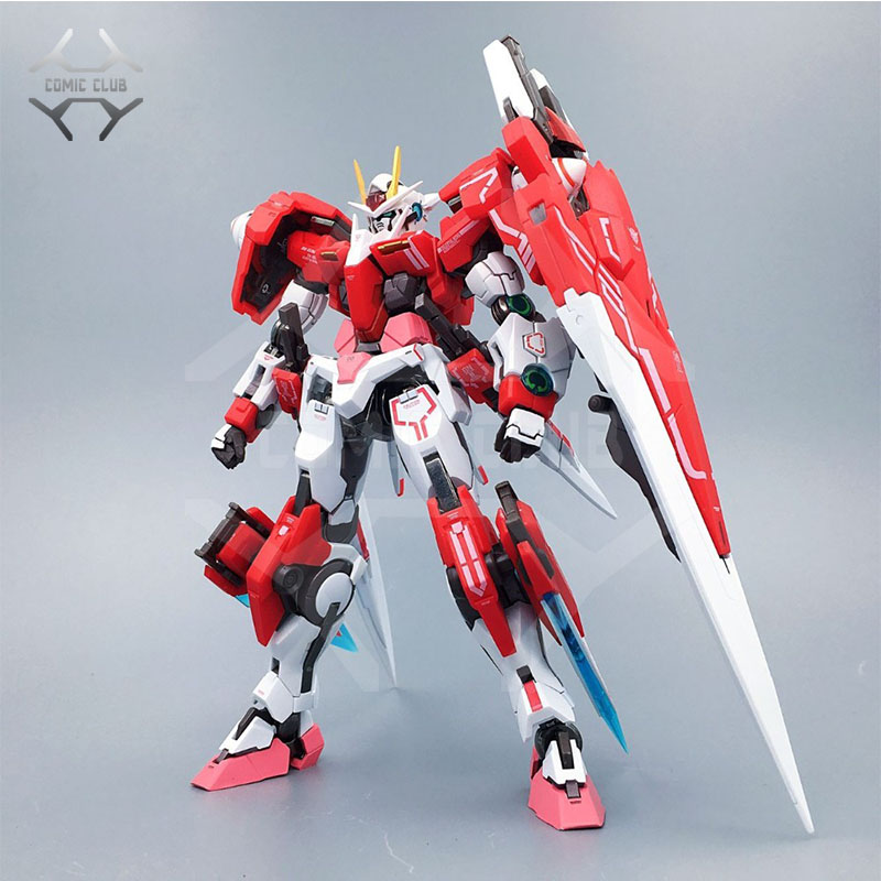 COMIC CLUB IN STOCK metalclub Metalgearmodels metal build MB Gundam OO seven sword 7s red color