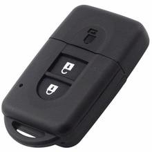 НОВЫЙ 2 Кнопки Дистанционного ключа Оболочки С L0G0 для Nissan Micra Juke Qashqai Xtrail Герцог Uncut Клинок Брелока Дело замена