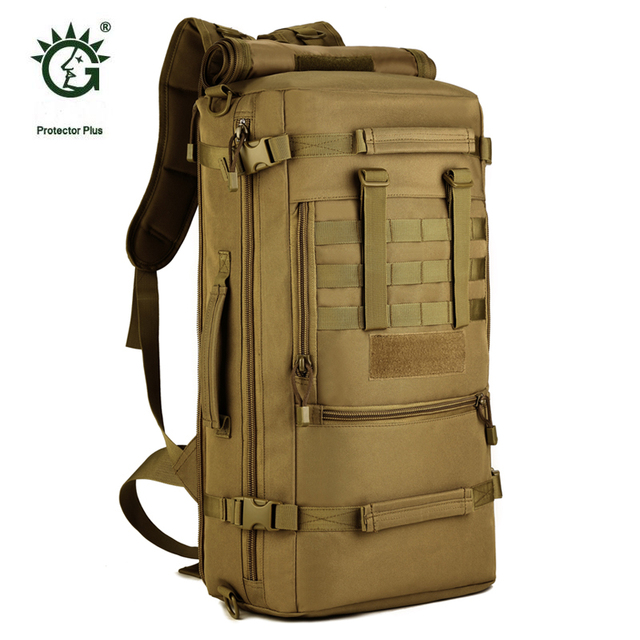 d1c51147a663 50L Big Capacity Multi-purpose Travel Military Tactical Backpack Bags For  Sports Outdoor Molle Hiking