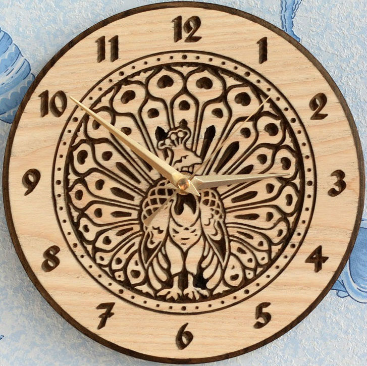 3d Model New Wall Clock World5 For Cnc In Stl And Dxf File Format