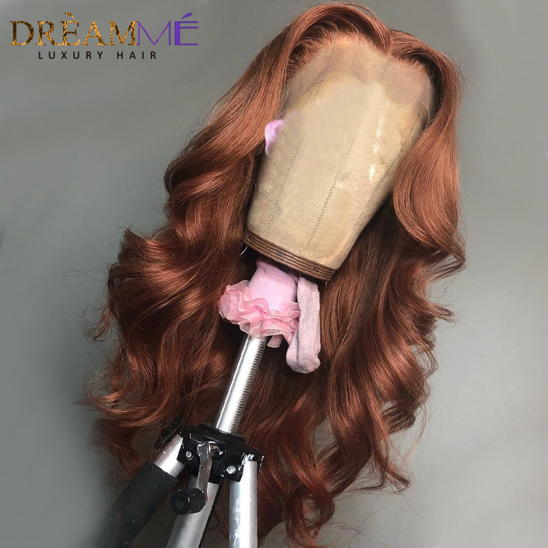 Image 5 - Red Body Wave Lace Front Human Hair Wig Preplucked Ombre Brazilian Burgundy Wigs Remy 13X6 Deep Part Frontal Wig For Black Women-in Human Hair Lace Wigs from Hair Extensions & Wigs