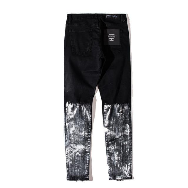 Distressed Skinny Jeans 4
