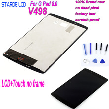 Starde Lcd For LG G PAD II 8.0 V498 LCD Display Touch Screen Digitizer Assembly +Free Tools
