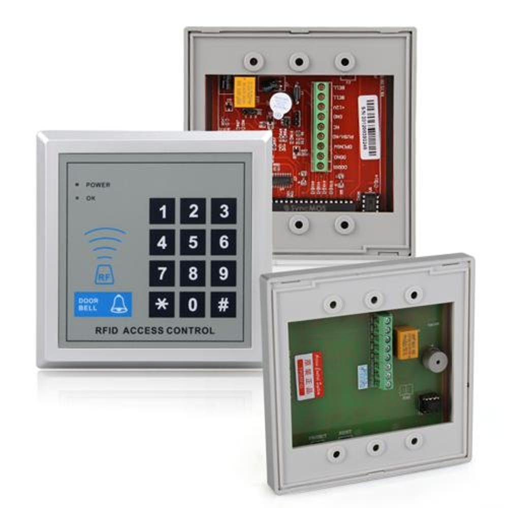 Security rfid proximity entry door lock access control for Door entry systems