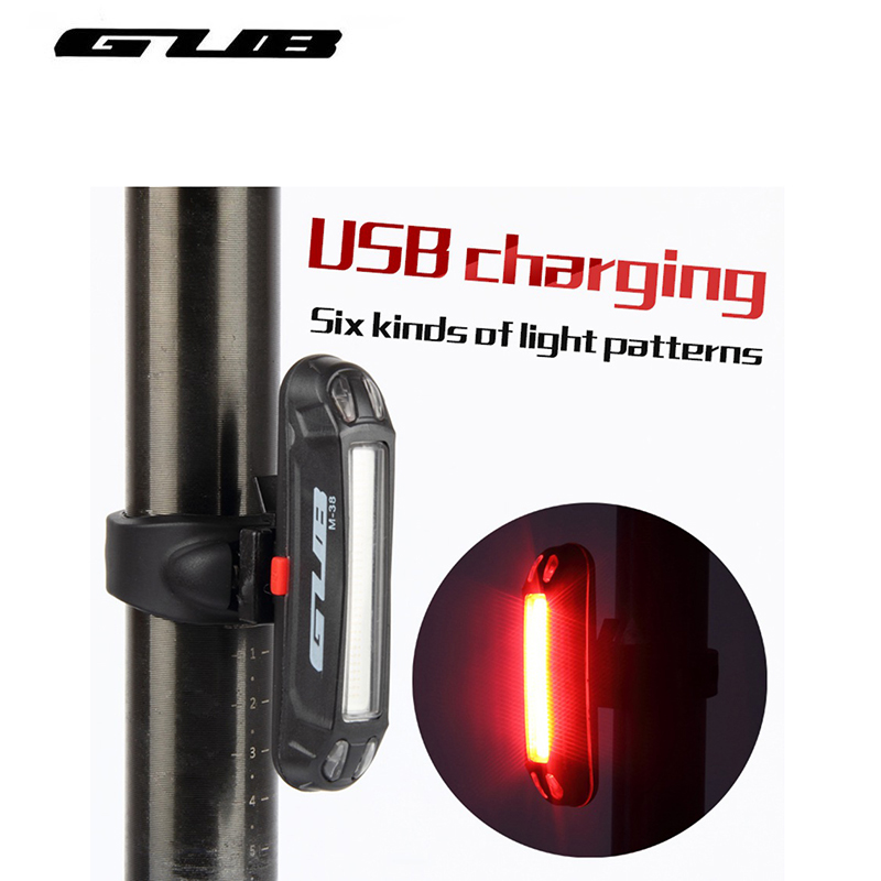 Bicycle Tail Light Rear Light Usb Rechargeable Powerful Waterproof Led Light Road Mountain Mtb Bike Lights Lamp GUB Free Ship