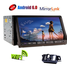 7 Android Car GPS Stereo Bluetooth CD DVD Player HD Touch Screen 2 Din In Dash