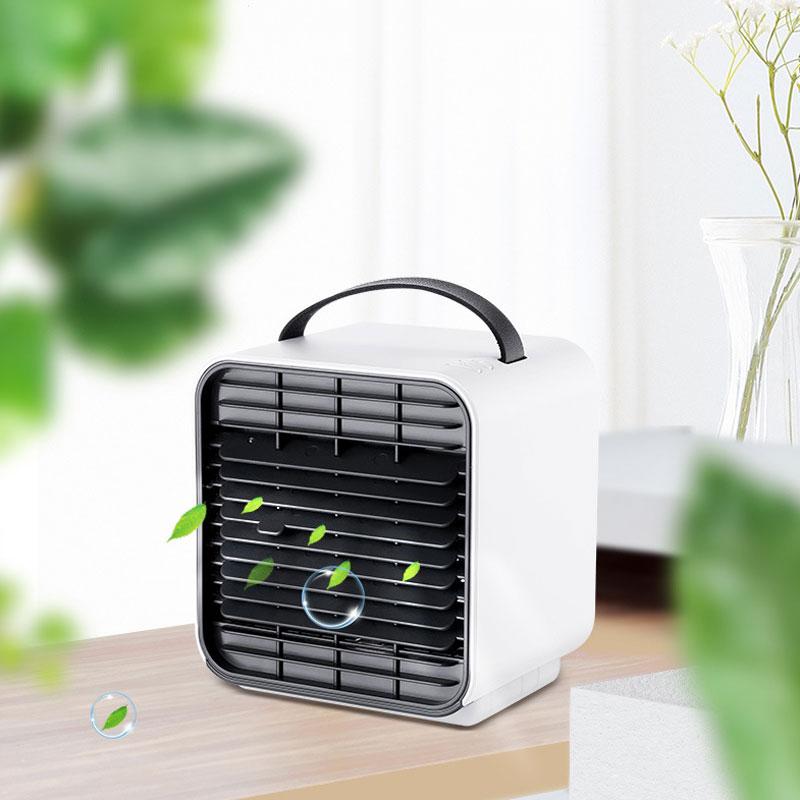 Mini ventilateur portatif de bureau de climatiseur d'usb ventilateur de refroidisseur d'air de ventilateur pour la maison de bureau