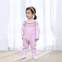 Auro Mesa bébé en tricot chandail À Manches Longues Bébé D'hiver Tricoté Barboteuse Nouveau-Né Vêtements D'hiver